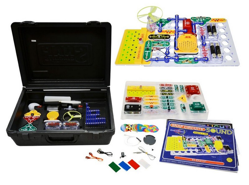 ELENCO SCC-350 Snap Circuits Deluxe:Light & Sound Combo Kit