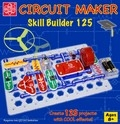 Elenco SNAP CIRCUITS CM-125 Circuit Maker 125 Skill Builder Project Kit
